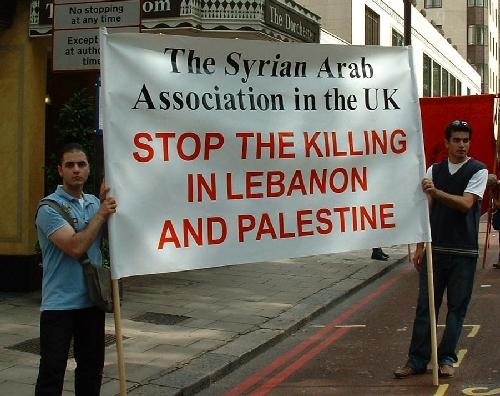 Stop the killing in Lebanon and Palestine