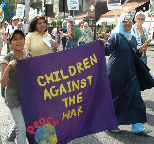Children against the war