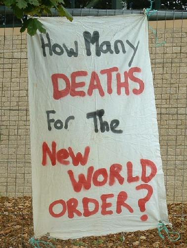 How many deaths for the new world order?