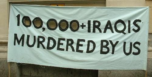 100,000+ Iraqis murdered by us