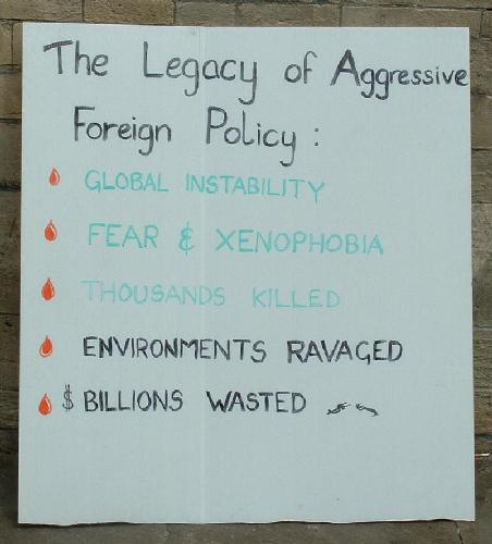 The legacy of aggressive foreign policy