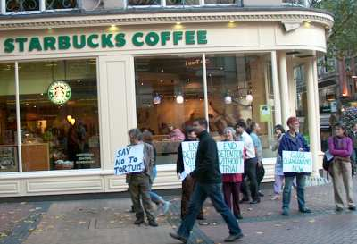 Starbucks, New Street, Birmingham, 21 Oct 2006