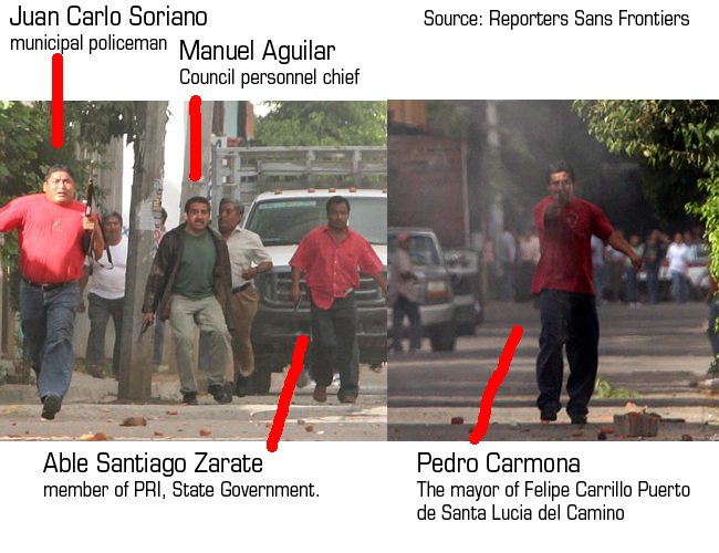 the named killers. Source RSF