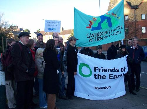 Swindon Climate Action Network and Friends of the Earth