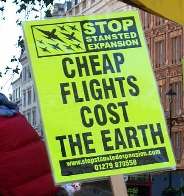 Cheap flights cost the earth