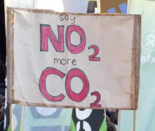 Say no 2 more CO2