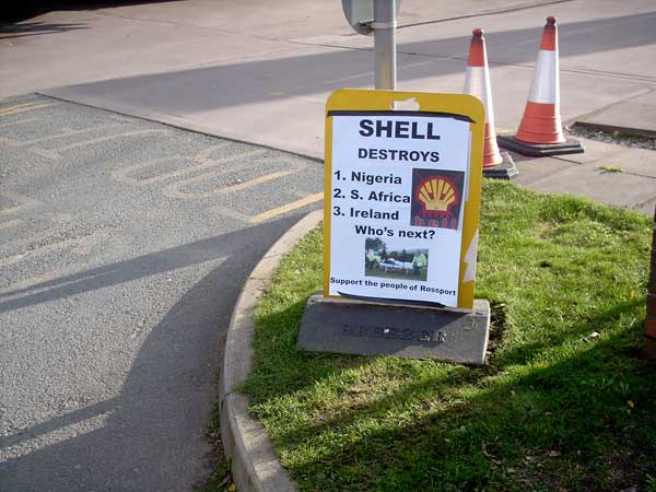 New Shell advertising