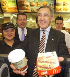Aldershot's MP serves up a Big Mac