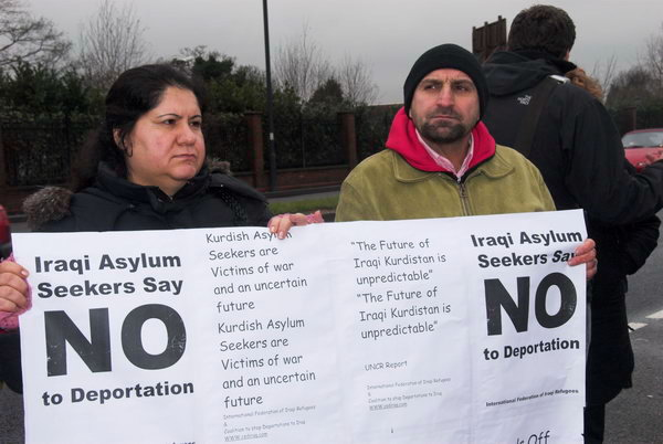 Iraqi Asylum Seekers say NO to Deportation