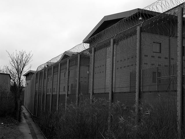 The detention centres are run like high security prisons...