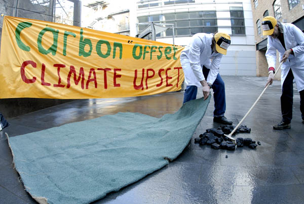 carbon offsets sweeping true issues under the carpet