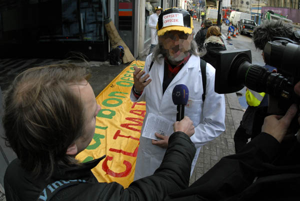 Sweedish tv interview campaigners