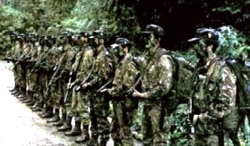 Amazon: Brazilians soldiers are jungle's war specialists
