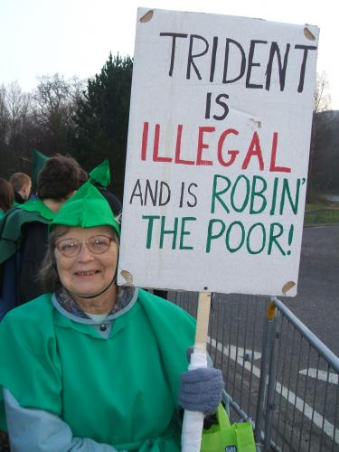 Marion Stands up for the Poor