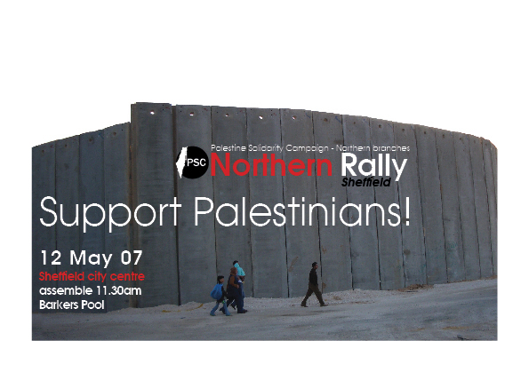Support Palestine! - Northern Rally and Festival to take place in Sheffield