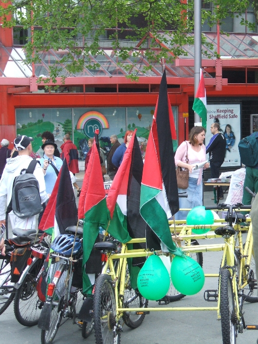 Bicycles for Palestine