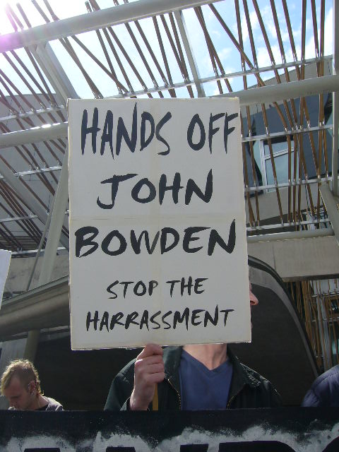Unlawful Detention of John Bowden