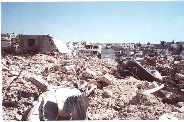 Carnage after the 2002 Operation