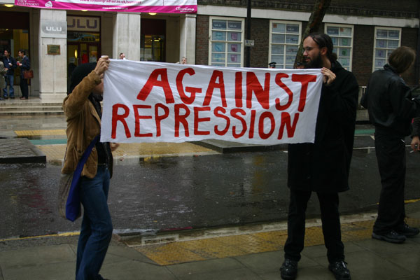 Against Repression