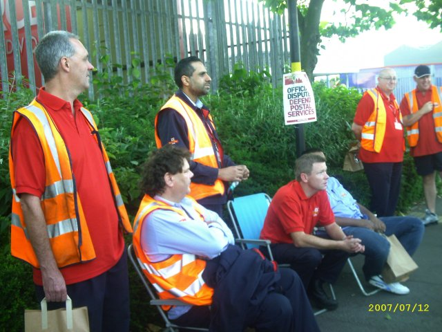 the back gate picket line 1