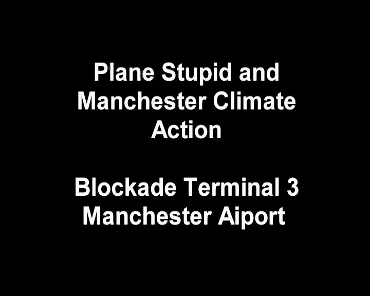 Airport Blockaders