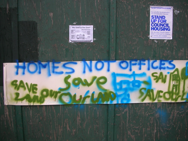 Homes Not Offices