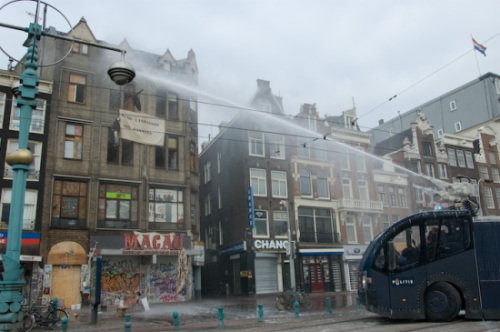 Eviction in Amsterdam, October 2007
