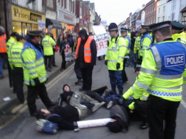 BLOCKADE IN LEDBURY