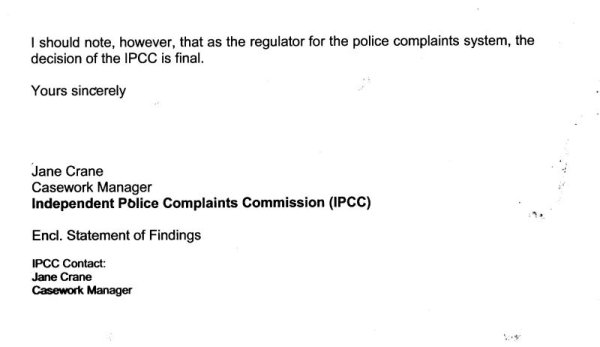 Tony Greenstein Blog: A Second Complaint Against Sussex Police Upheld