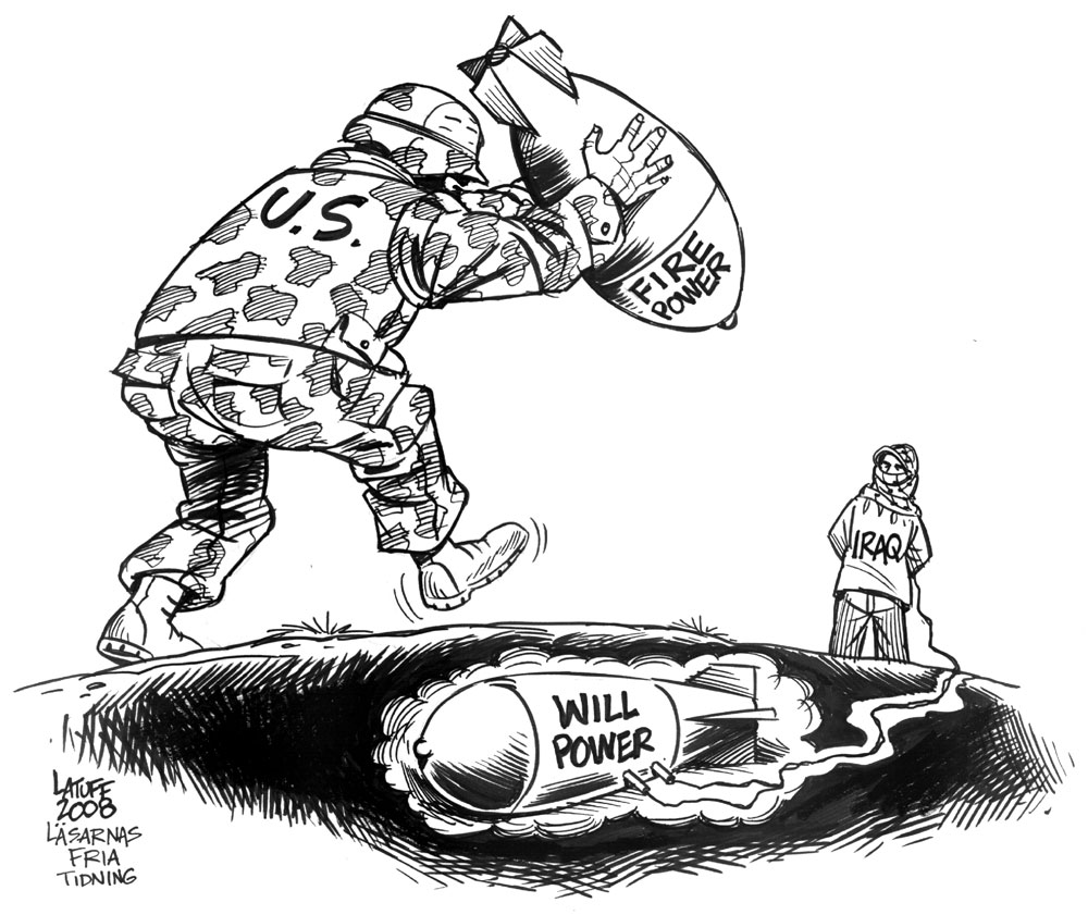 Image Gallery Militarism Cartoon
