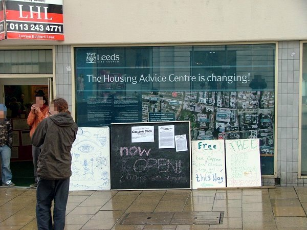 "Audacious space - ""The Housing Advice Centre Is Changing"" - oh yes!"
