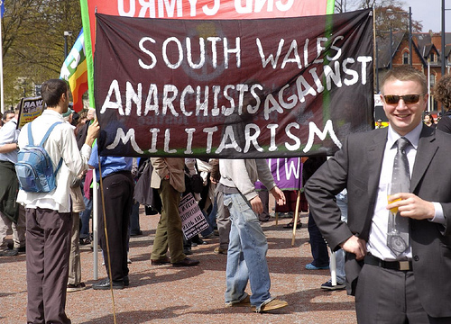 A new, smart uniform for South Wales Anarchists? :o)