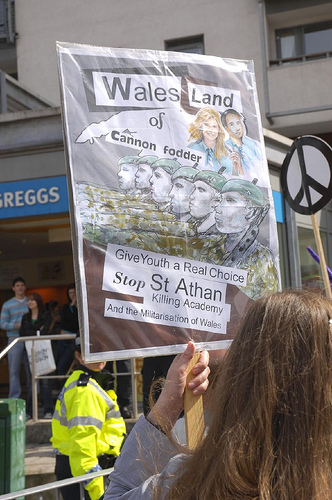 "Wales - ""land of cannon fodder"""