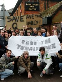protest rally to save Tumbledown Dick
