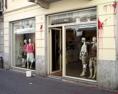 RETAILER GOES FUR-FREE AFTER CAMPAIGN (Italy)