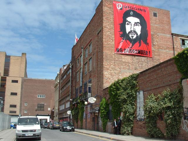 Before demolition, Tierney saw himself as Che Guevara