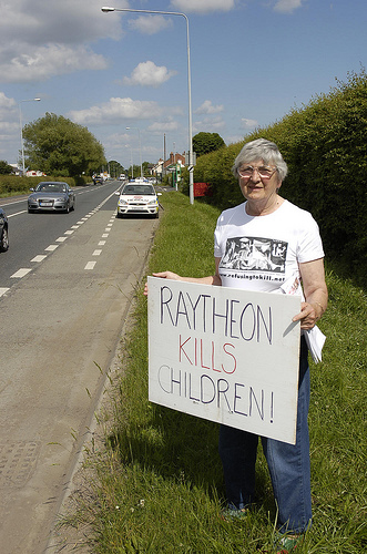 Raytheon - killing children