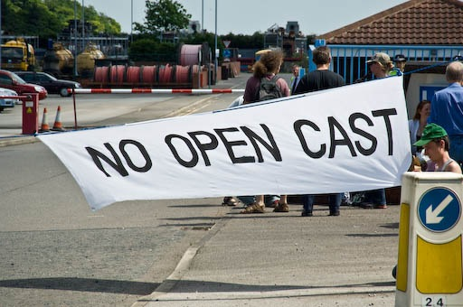 No Open Cast Coal Mining !