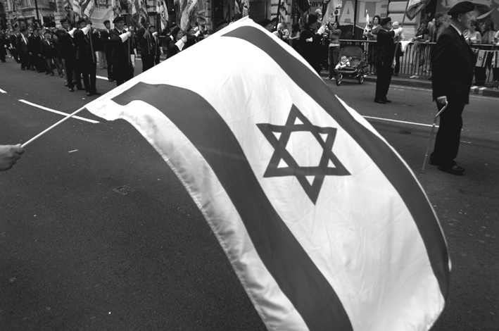 UK, London. 'Salute to Israel' march.