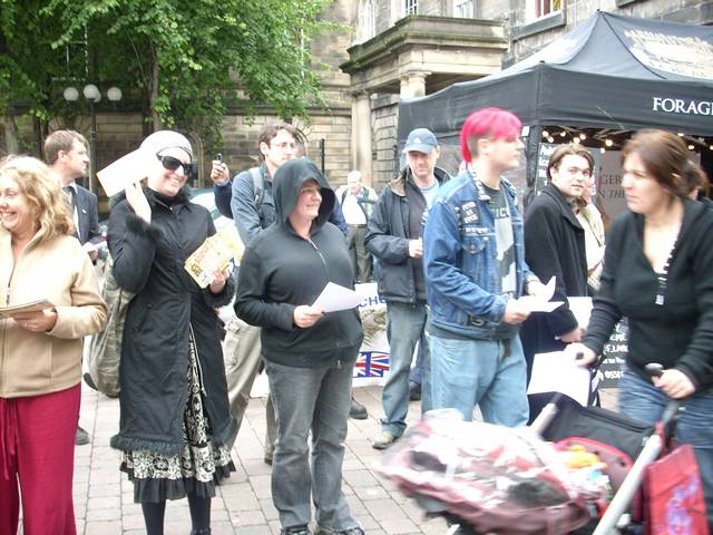 Fash Stall Surrounded