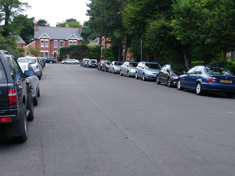 nuisance parking in local roads