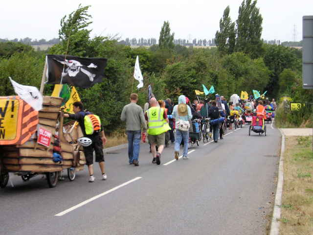 Caravan and March approaching the Camp.