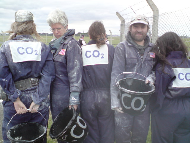 CO2 technicians and their 'Carbon buckets'