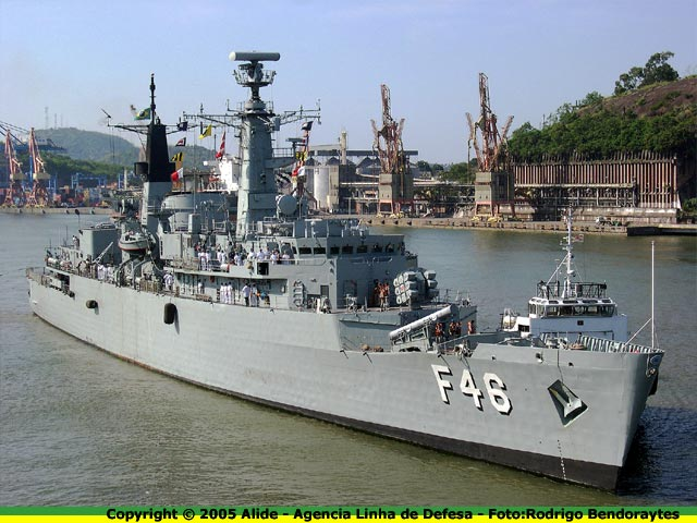 Brazil's Frigate Greenhalgh dispatched to participate in US War Games