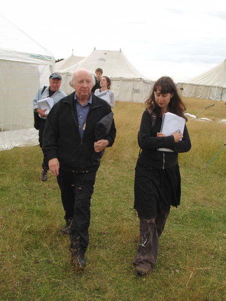 Scargill at Climate camp