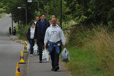 The Tesco to campsite booze carrying event was particularly popular.