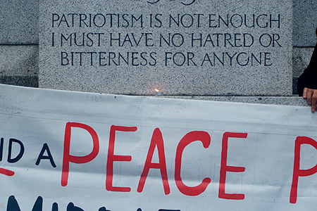 Patriotism is not Enough - Edith Cavell.