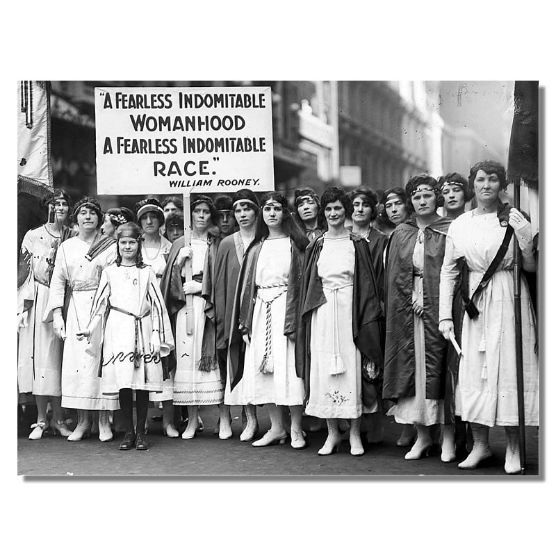 photo of the Suffragettes