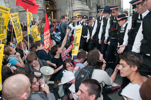 SWP protest on the 10th