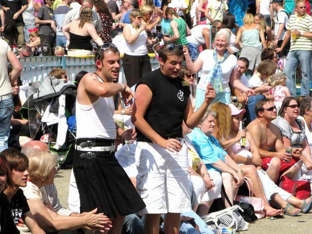 Gay pride nottingham 2008